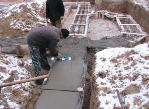 Фундамент под баню своими руками, ves-fundament.ru