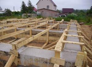 Ленточный фундамент для бани, i.io.ua