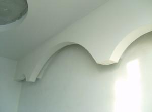 Стены после нанесения латексной шпатлевки, remontkvartir.info