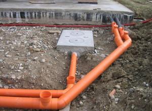 Монтаж труб ливневой канализации, canalizator-pro.ru