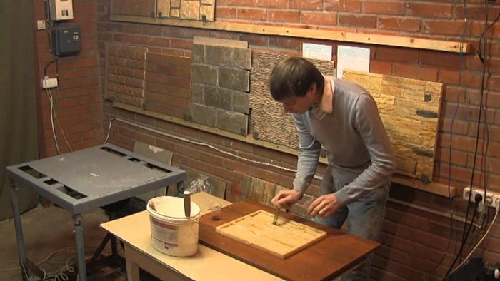 Формы изготовление декоративного камня своими руками