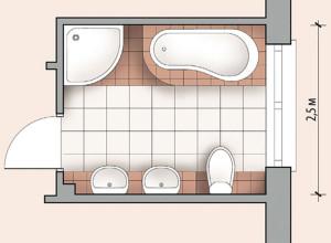 Планировка ванной комнаты, smcloud.net