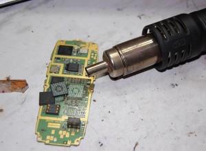 Фотография термофена для пайки микросхем, tehnari.ru