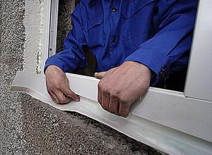 Установка рамы пластикового окна, neoenerg.ru