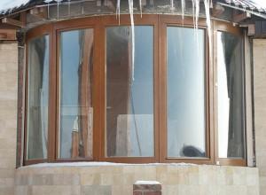 Застекление балкона деревянными окнами, vithouse.ru