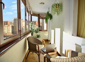 Изображение застекленного балкона, 3deko.info