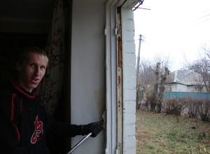 Демонтаж старого окна, oknaplus.ck.ua