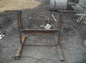 Фотография рамы для самодельной бетономешалки, e-a.d-cd.net
