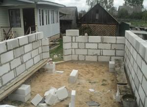 Фундамент для гаража из пеноблоков, blogspot.com
