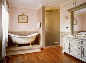 Фото декора ванной в викторианском стиле, archidom.ru.