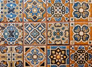 Фотография плитки в восточном стиле, mallina-studio.com
