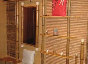 Использование бамбука в дизайне ванной, 1tbc.com