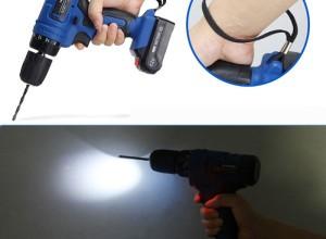 Фото электрической дрели с подсветкой, aliimg.com