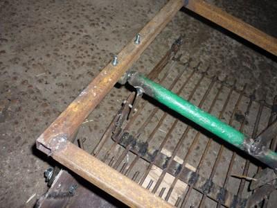 На фото прямоугольная рама для картофелекопалки, imageup.ru
