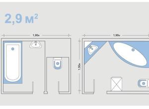 Изображение планировки ванной комнаты, ik-architects.com