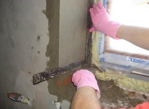 Фотография установки откосов из цемента, stroica.in
