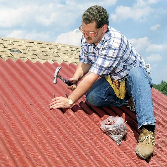 Крыша своими руками шифер