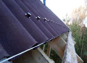 Монтаж мягкого шифера на крышу, remontkrovly.ru