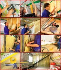 Фото утепления мансарды изнутри минеральной ватой(часть 2)