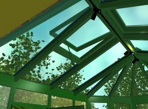 Естественная вентиляция зимнего сада, blokno.net