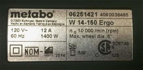 Мощность аккумуляторной болгарки, cpsc.gov