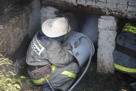 Тушение пожара в труднодоступных местах, mchs.gov.ru