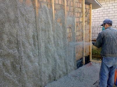 Утепление стен эковатой, sibirpromles.ru
