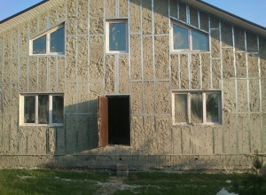 Дом утепленный эковатой снаружи, remstd.ru