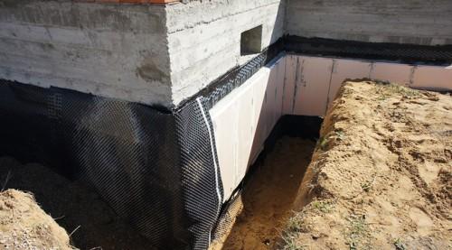 На фото песок подсыпка для фундамента, wood-stroi.ru