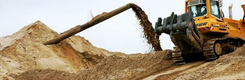 Речной песок добывается способом гидромеханизации, budservice.wix.com