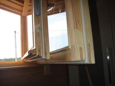 Утепление рамы окна