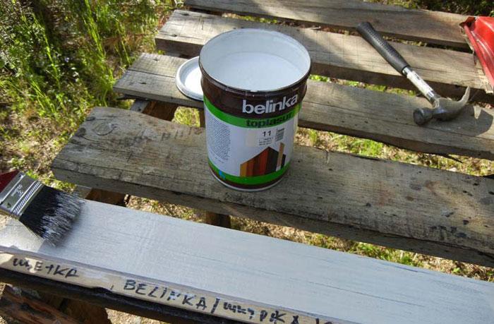 На снимке грунтовка Belinka