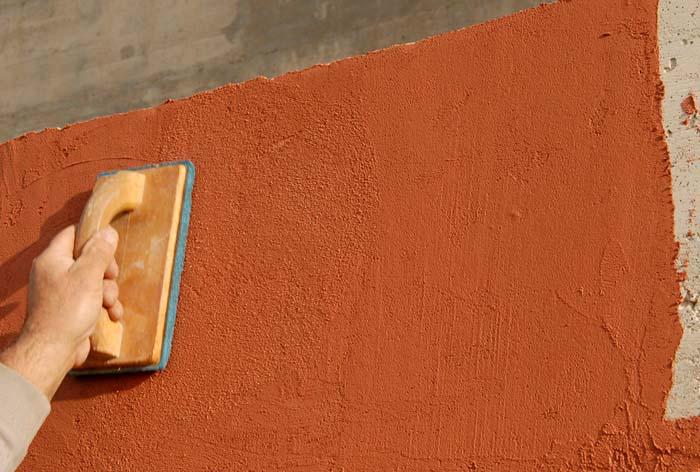 Изображение фасадной финишной шпаклевки