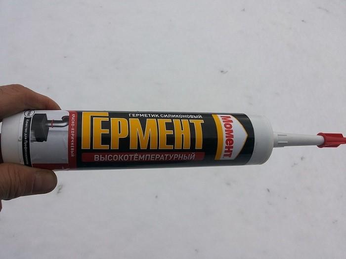 Фотография высокотемпературного герметика