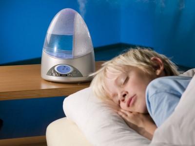 На фото ионизатор воздуха в детской комнате