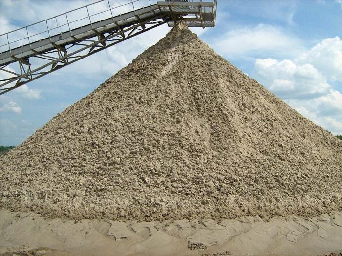 Фотография песка