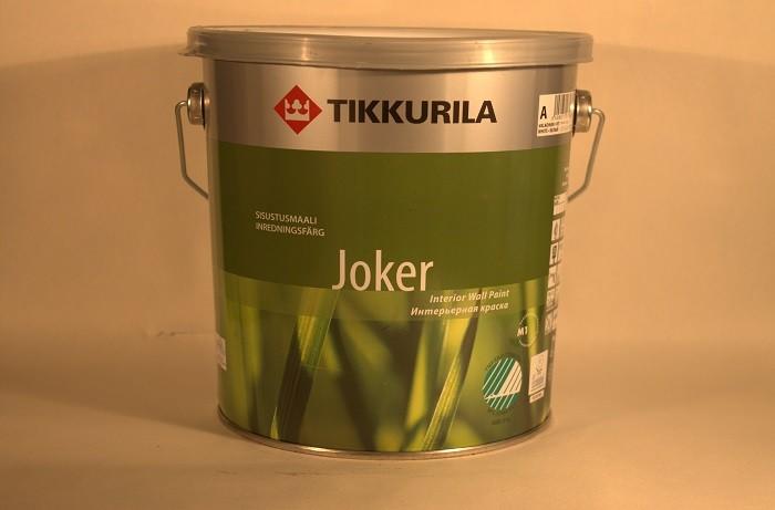 На фото краска марки Tikkurila