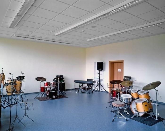 На снимке акустический потолок - «Ультима»