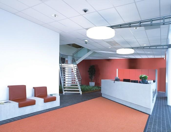 На фото потолок с кромкой Microlook