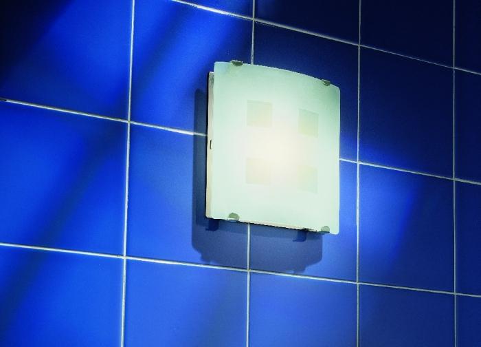 На снимке вытяжной вентилятор для ванной комнаты с подсветкой