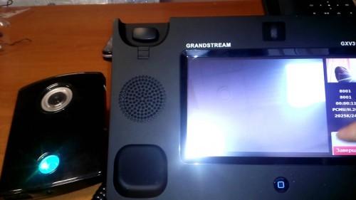 Фотография современного SIP домофона