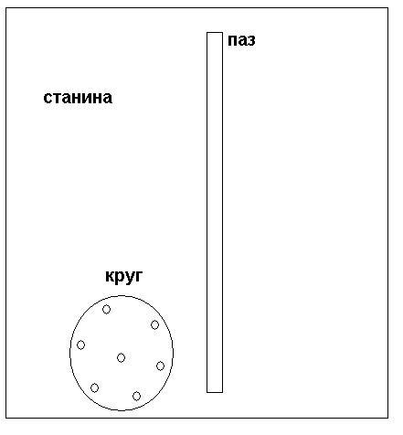 Схема приспособления для болгарки своими руками