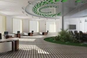На фото потолок с перфорацией