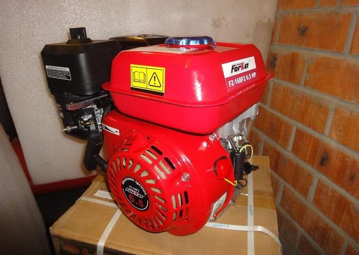 Фотография двигателя для мотоблока