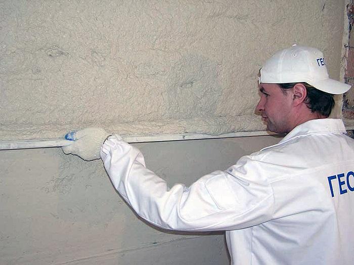 Фотография выравнивания стен