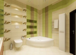Отделка туалета — что выбрать плитку, пластиковые панели или обои?