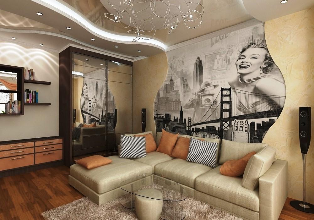 Современные потолки 3d для изысканного оформления помещений