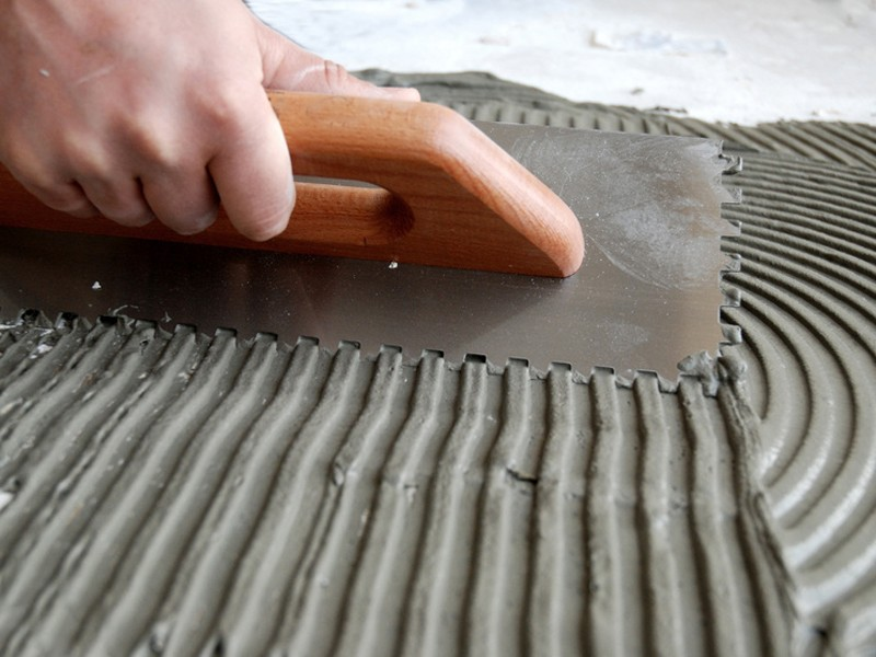 Расход плиточного клея на 1м2 при ремонте