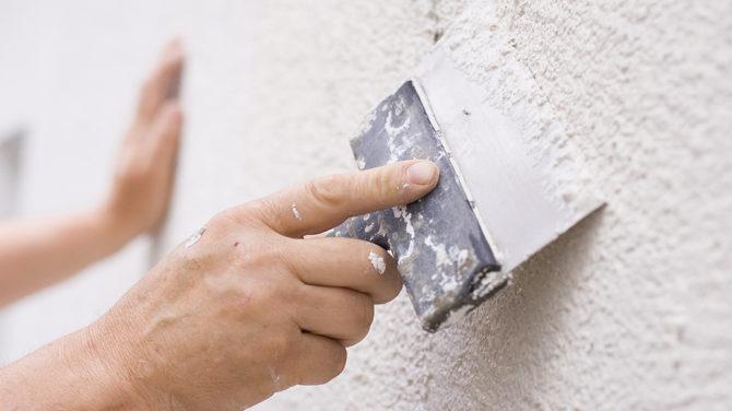 Фасадная шпатлевка — как не ошибиться с выбором