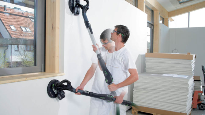 Шлифовка стен после шпаклевки — советы профессионалов